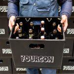 Le fourgon : livraison de boissons consignées